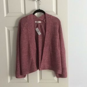 Open front LOFT sweater